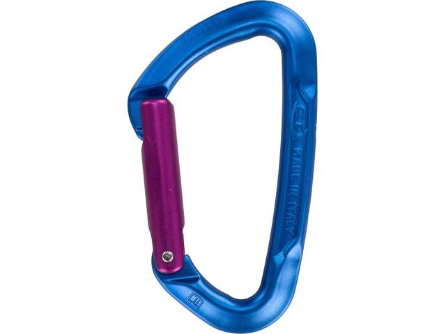 Climbing Technology Berry S Mosquetón, blue/purple ocra
